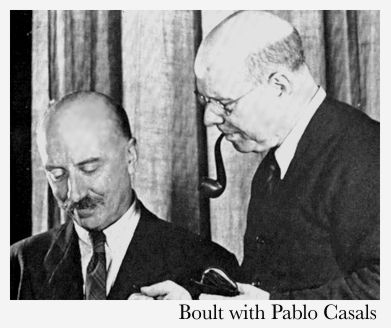 Adrian Boult with Pablo Casals