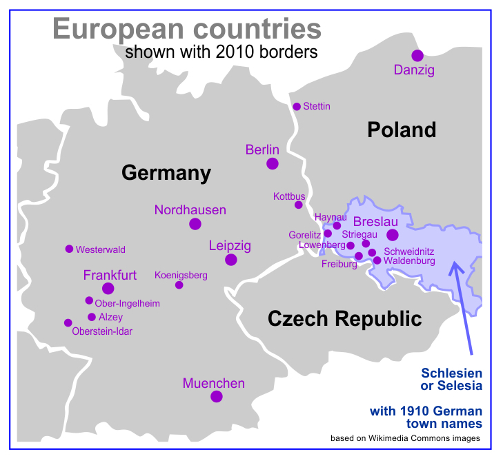 Clemens Taesler map