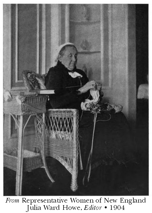 From Representative Women of New England Julia Ward Howe, Editor • 1904