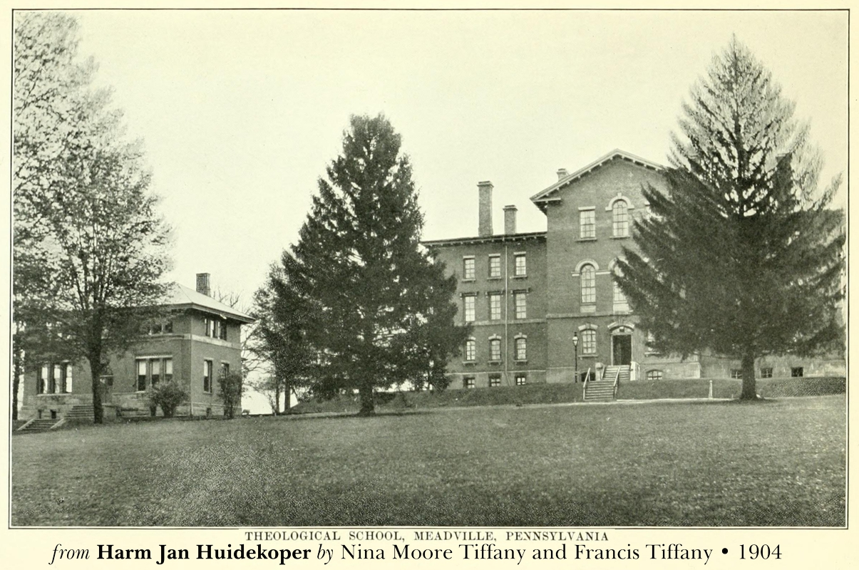 Meadville Theological School from Nina Moore Tiffany and Francis Tiffany biography, 1904