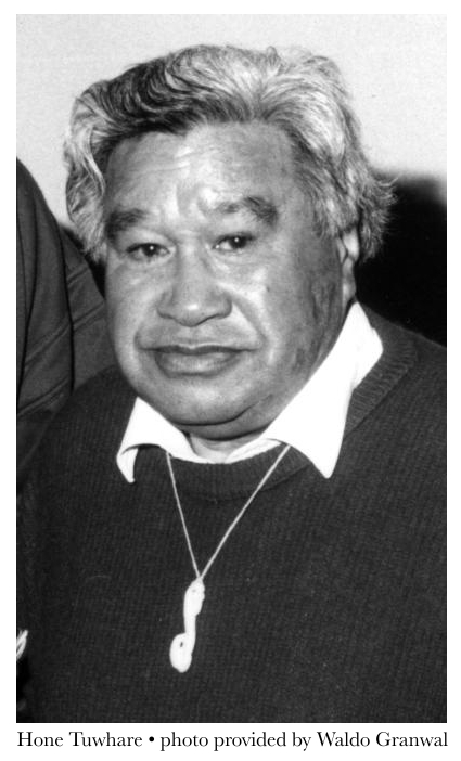 Hone Tuwhare • photo provided by Waldo Granwal