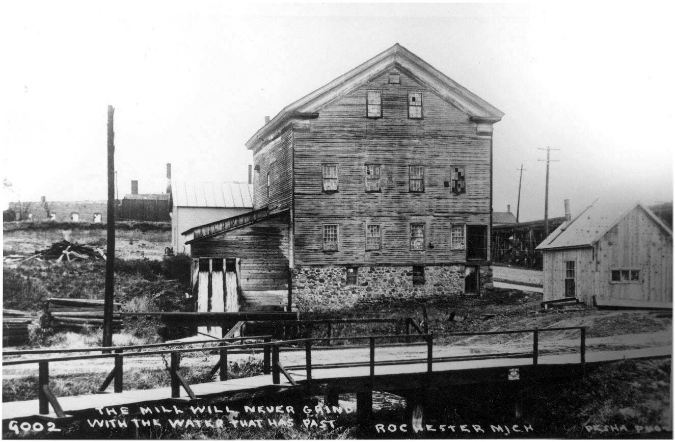 Hartson & Baxter Gillette's mill in Rochester, Michigan