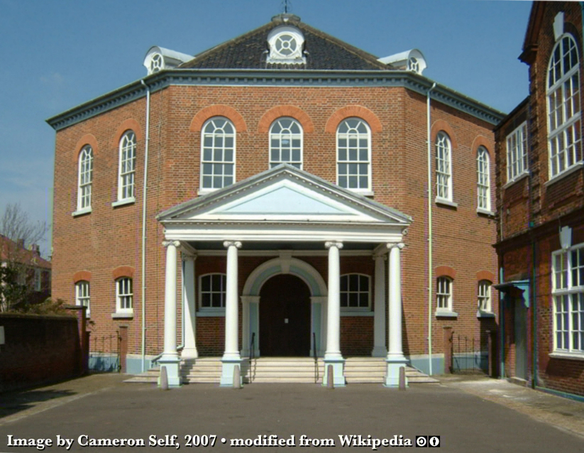 Octagon Chapel - Norwich, Norfork, England