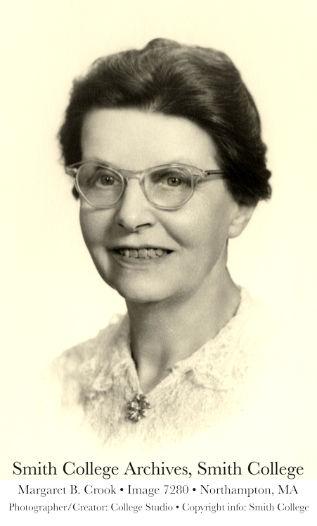 Margaret Brackenbury Crook - Smith College Photograph
