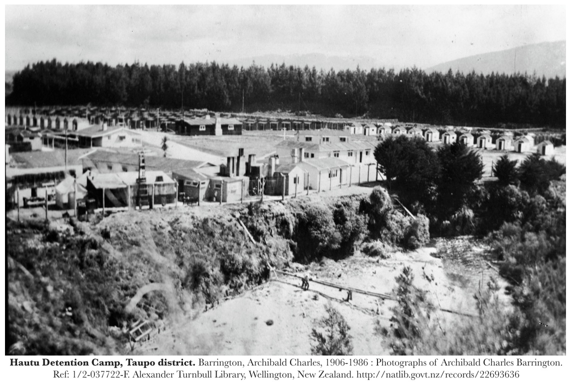 Hautu Detention Camp, New Zealand