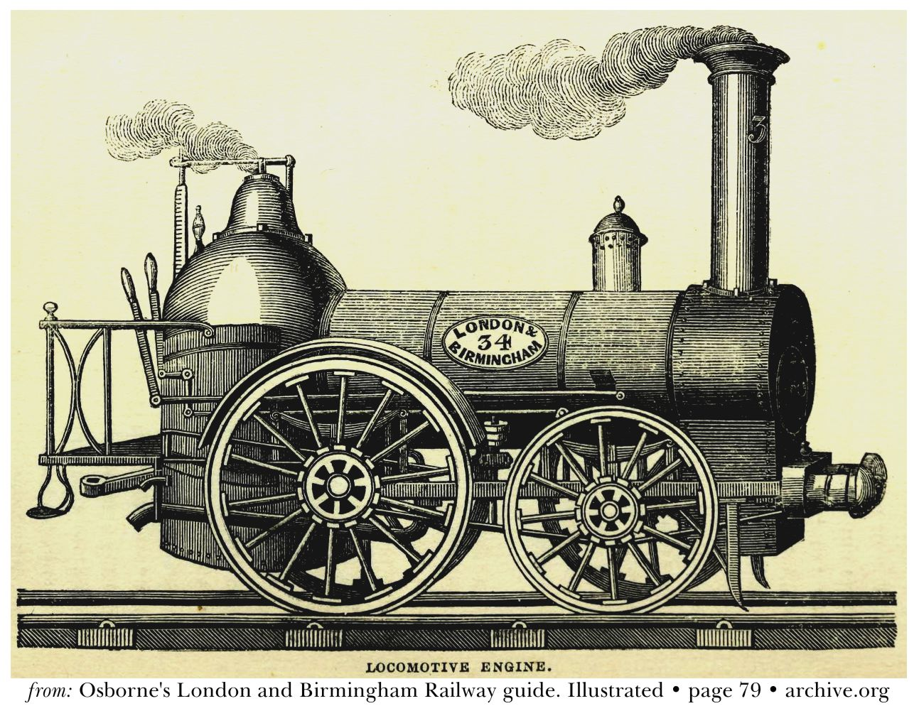 London & Birmingham Railway, Locomotive 34