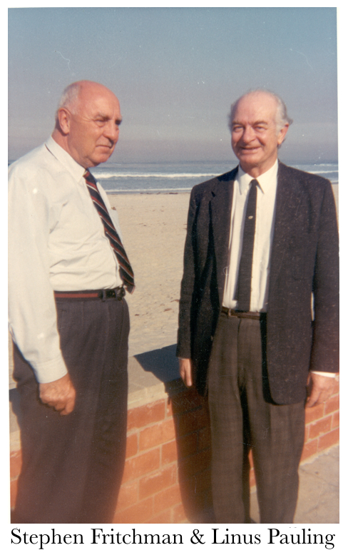 Stephen Fritchman and Linus Pauling