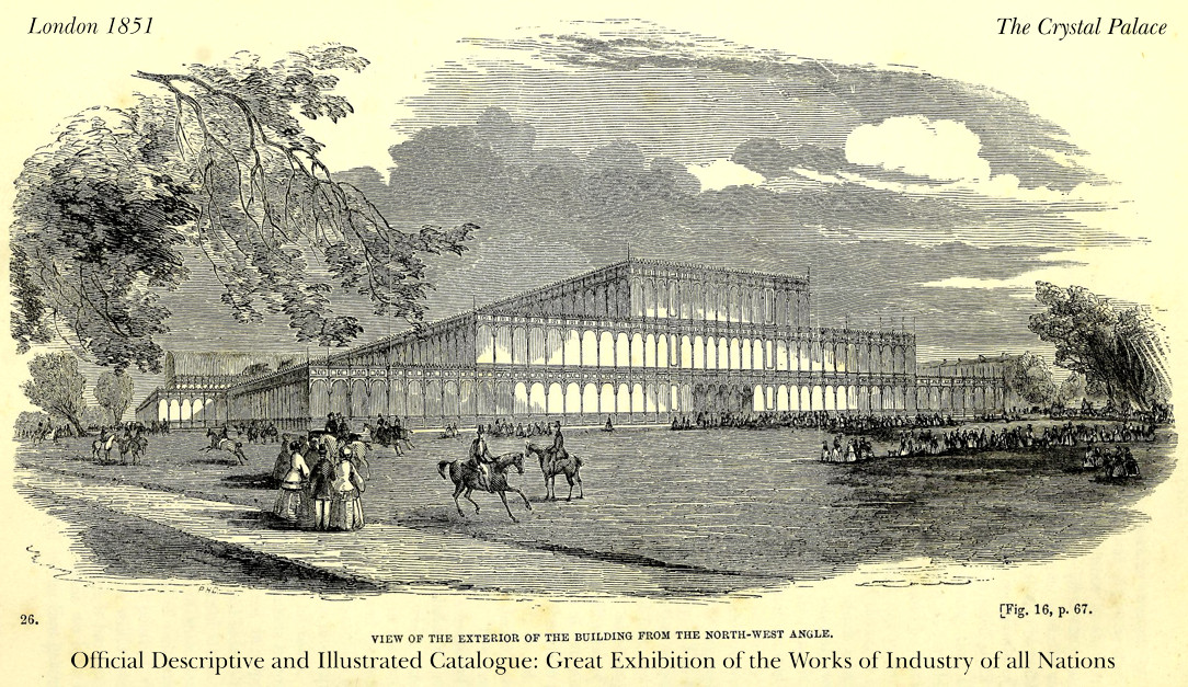 Crystal Palace - Great Exhibition - London, 1851