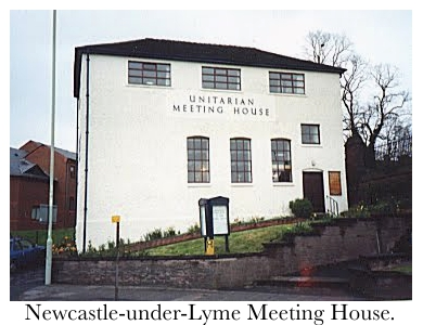 Newcastle-Meeting-House, Newcastle-under-Lyme, England